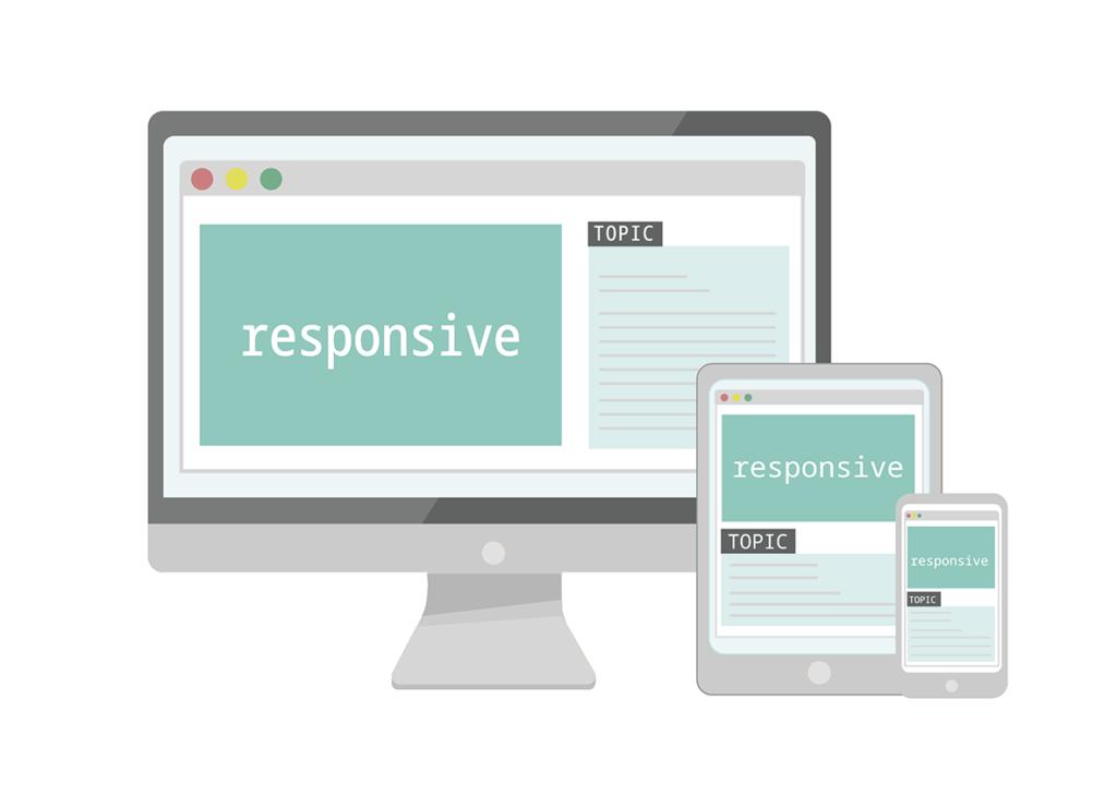 レスポンシブデザインのイメージ画像